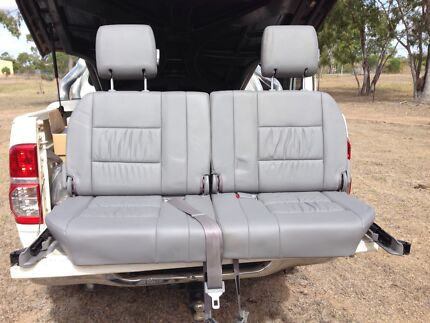 Leather rear seats Broughton Charters Towers Area Preview
