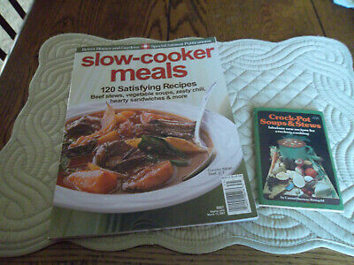 Slow-Cooker Meals by Better Homes and Gardens & mini Crock-Pot Soups and