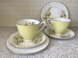 2 Royal Albert trios sold pending pickup