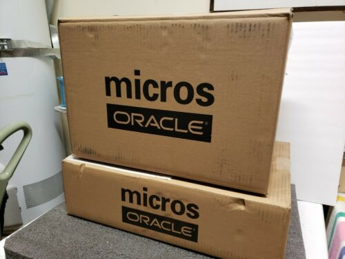 Oracle MICROS Workstation 6  terminal 7346027 with stand (620) Windows 10