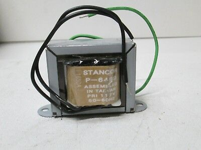 Stancor 117v 50-60hz Transformer P-6469 New Free Shipping