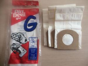 Dirt Devil bags
