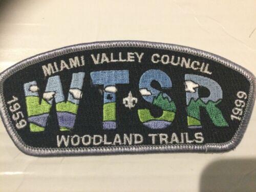 Miami Valley Council CSP SA-12 Camp Woodland Trails 40th Anniversary 1999 SALE!!