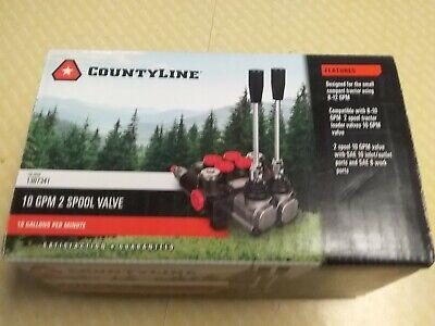 Countyline 10gpm 2-spool Valve 1307341 Brand New