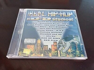 Sealed New The Real Hip Hop: Best of D&D Studios Vol. 1 CD Jeru Damaja