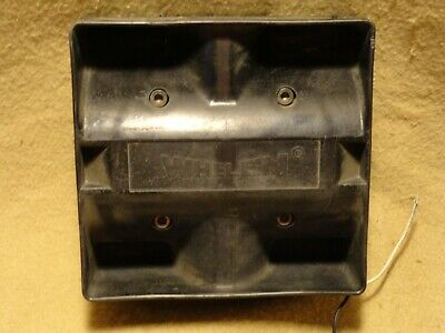 Used Tested Working And Loud Whelen Pa Speaker Siren Sa-314 100 Watt Fast Ship
