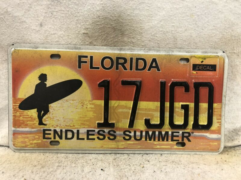 Florida Endless Summer License Plate