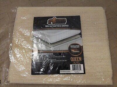 GORILLA GRIP Original Slip Resistant Mattress Gripper Pad, Queen 54x72 Sold Out