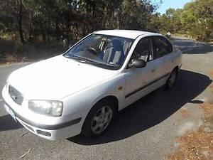 2002 Hyundai Elantra Sedan LOW KS WITH REG AND ROADWORTHY!! Moorabbin Kingston Area Preview