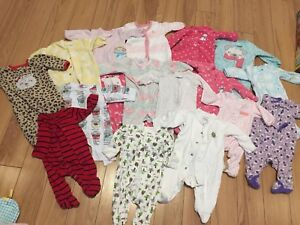 Baby 0-3 month clothing lot
