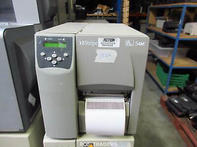 Zebra S4M S4M00-200E-0200D LAN + USB Thermal Barcode Label Printer 38 INCH LINES