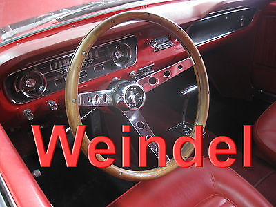 Ford Mustang 1965 -1969 Walnuss Classic Lenkrad für Ford Mustang Fastback Shelby
