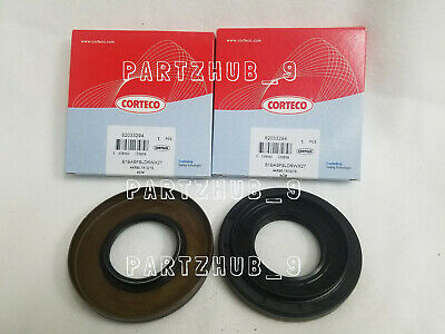 For BMW E46 E83 E90 128i Set Pair of 2 Rear Axle Shaft Seal 90 x 44 x 10 CORTECO