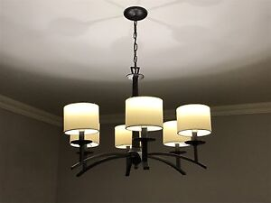 Trendy interior lights from newer executive home!
