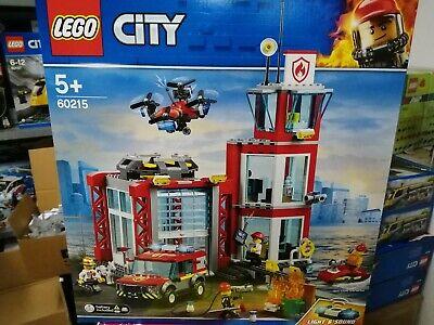 LEGO CITY 60215 caserma vigili del fuoco nuovo sigillato