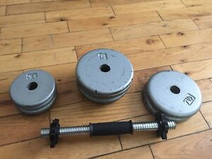 Steel Weights (55lbs) Sold PPU