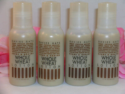 New Davies Gate Whole Wheat Body Lotion Seeds Grains Collection 4 Pc 1.7 oz - Lotion Davies Gate