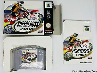 Supercross 2000 - EUR - Nintendo 64 - N64