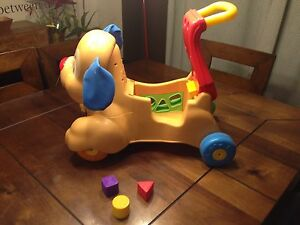 Fisher price laugh and learn walker