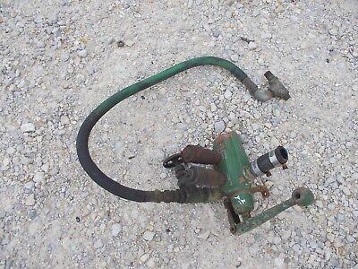John Deere A B Tractor Hydraulic Char-lynn Valve Assembly W Ports Hose Jd
