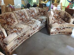 Couch & Chair -Good condition