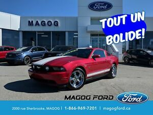 2010 Ford Mustang GT*CUIR*MAGS*JAMAIS ACIDENTE*UN BOLIDE*
