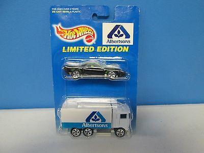 Hot Wheels Limited Edition Albertson 2 Car Pack W Black Firebird