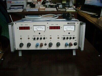 Adjustable Dc Regulated Linear Power Supply Hirschmann