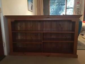 Solid Wooden Bookcase/Shelf/Cabinet unit Cremorne North Sydney Area Preview