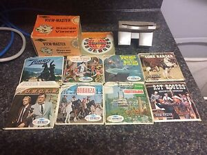 Vintage view master with 9 stories