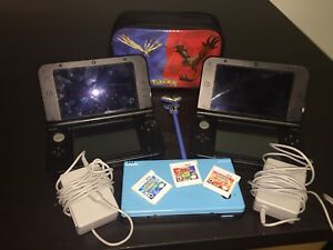 Two 3DS XL ~ DSi / games + pocket + 2 chargers