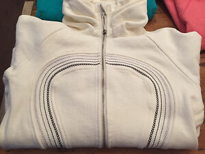Lululemon Special Edition Calm and Cozy Scuba Sweater, Size 12