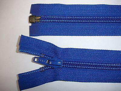 RV415 Reißverschluß YKK blau 30cm lang, teilbar 2 Stück