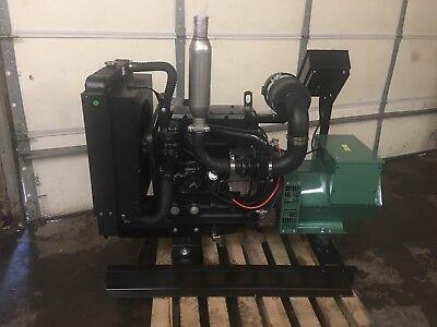 New 30 Kw Generator John Deere Diesel 4024tf 0 Hrs 12 Lead 120240 Tier 4