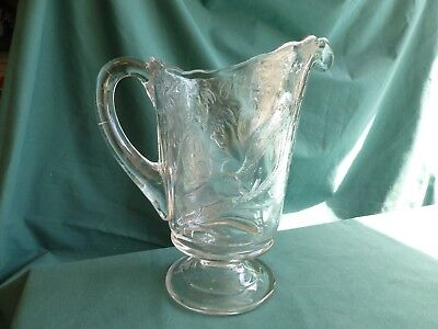 Squirrel Early American Pattern Glass Water Pitcher for sale  Shipping to Canada