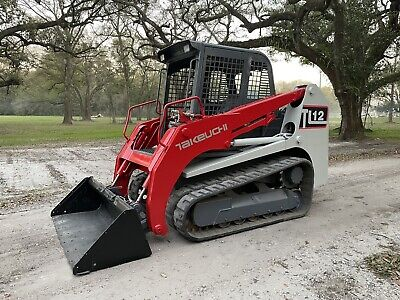 2013 Takeuchi Tl12 Skid Steer Loader - 110 Hp Kubota Pre Def - Joystick Controls