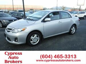 2012 Toyota Corolla LE (Power Sunroof)
