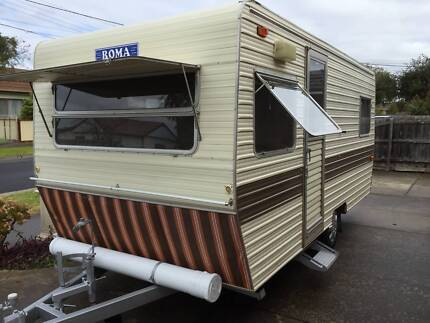 Roma Caravan Sleeps 4 - neat and clean condition Taylors Hill Melton Area Preview