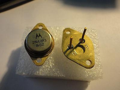 1pc. 2n4283 Germanium Power Motorola Transistor 60amp 75v.