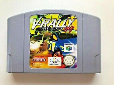 Nintendo 64 N64 - V-Rally Edition '99 - N64 Cart - Great Racing Game!
