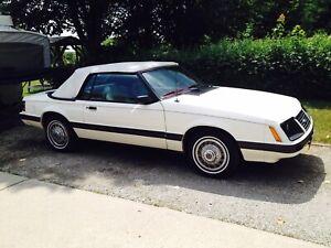 1983 Mustang GLX