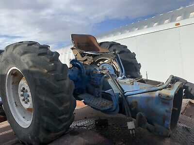 Ford Tractor Transmission Rear Axle Tires