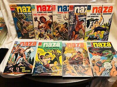 NAZA STONE AGE WARRIOR FILE COPIES FULL RUN #1 TO #9 ALL HIGH GRADE NONE