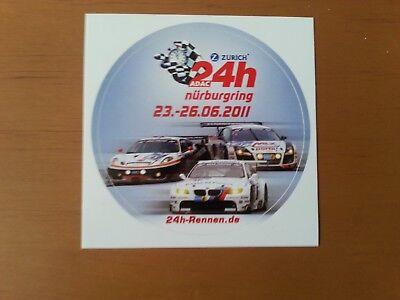 24 Stunden Nürburgring 2011, 8 cm runder Aufkleber