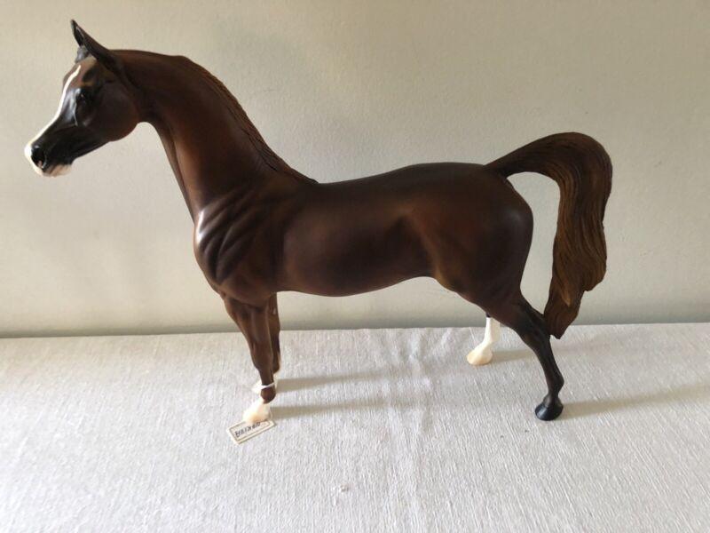 Peter Stone - Nakiva special Run Arabian Stallion  signed