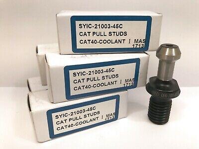 Cat40-coolant Syic-21003-45c Pull Stud 5pcs Lot New