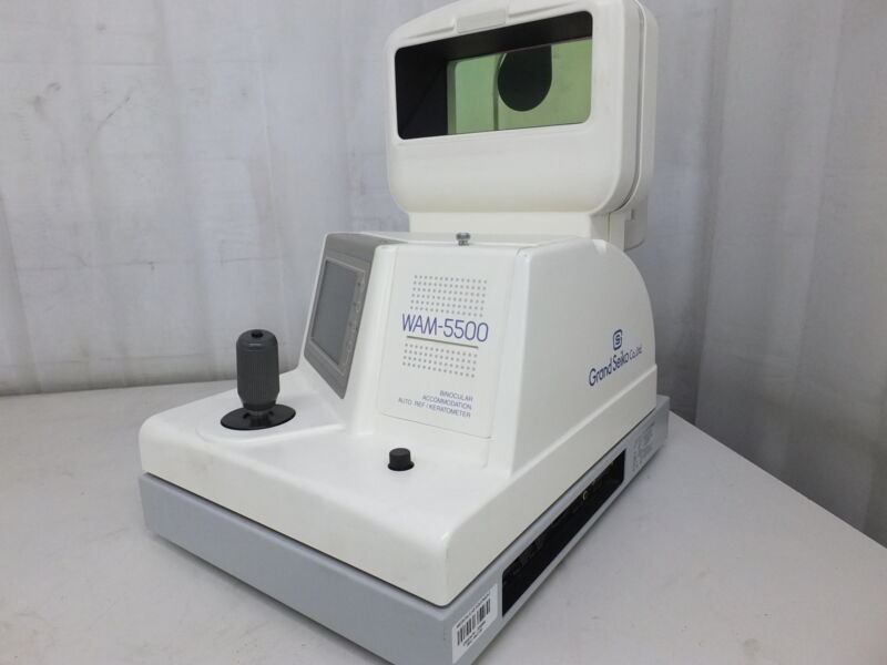 Grand Seiko WAM-5500 Binocular Accommodation Auto REF / Keratometer