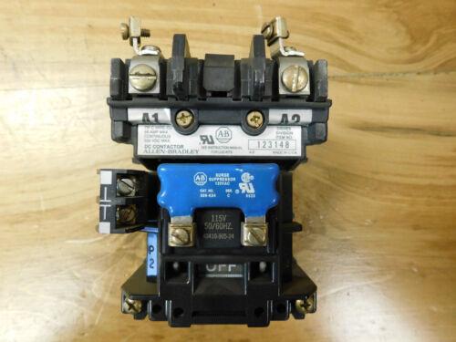 Allen Bradley 123148 Dc Contactor 115v 50/60hz Used Csq