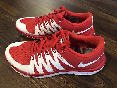 Nike Mens Free Trainer 5.0 V6 AMP Ohio State Athletic Shoes Size 8 Buckeyes