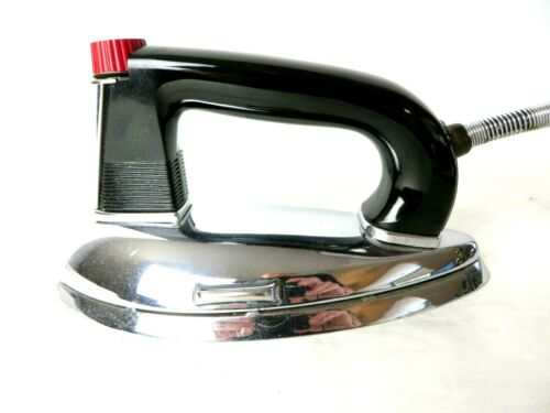 1940s Antique General Mills Electric Iron No GM1B Pristine! Works!  #10089
